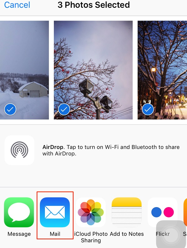 transfer-photos-from-iphone-to-usb-driver-via-email