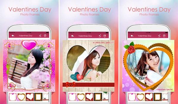 Valentine Day Photo Frames
