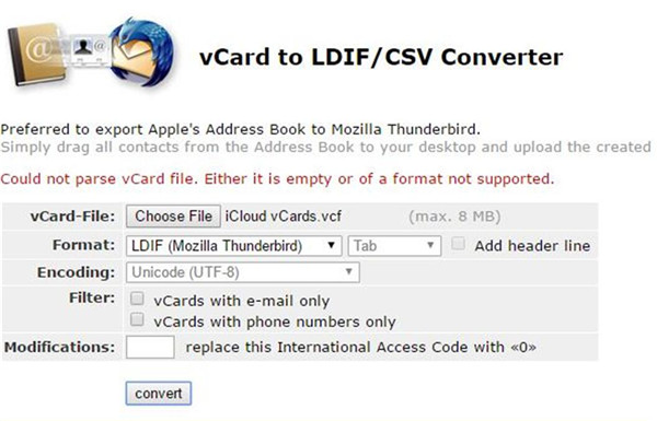 head to vcfconvert
