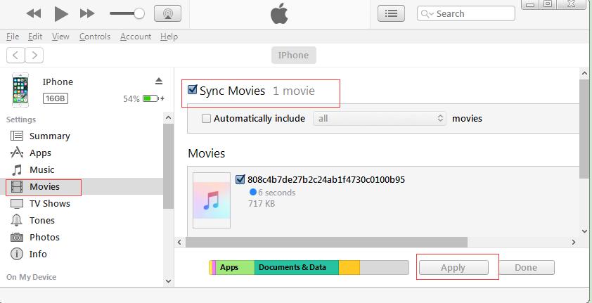 check Sync Movies