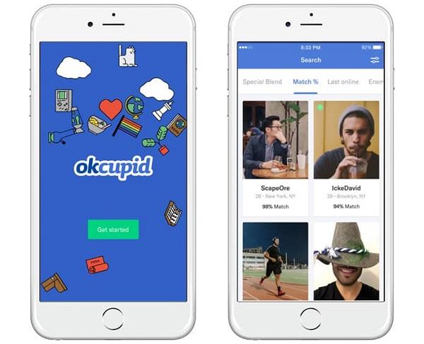 okcupid dating app download