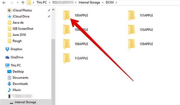 Copy Files from iPod to PC with Windows Explorer