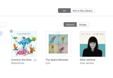 view purchased contents on iTunes