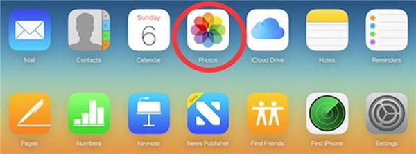 log into iCloud