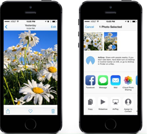 Add Photos to iPod Touch from iPhone via Facebook APP