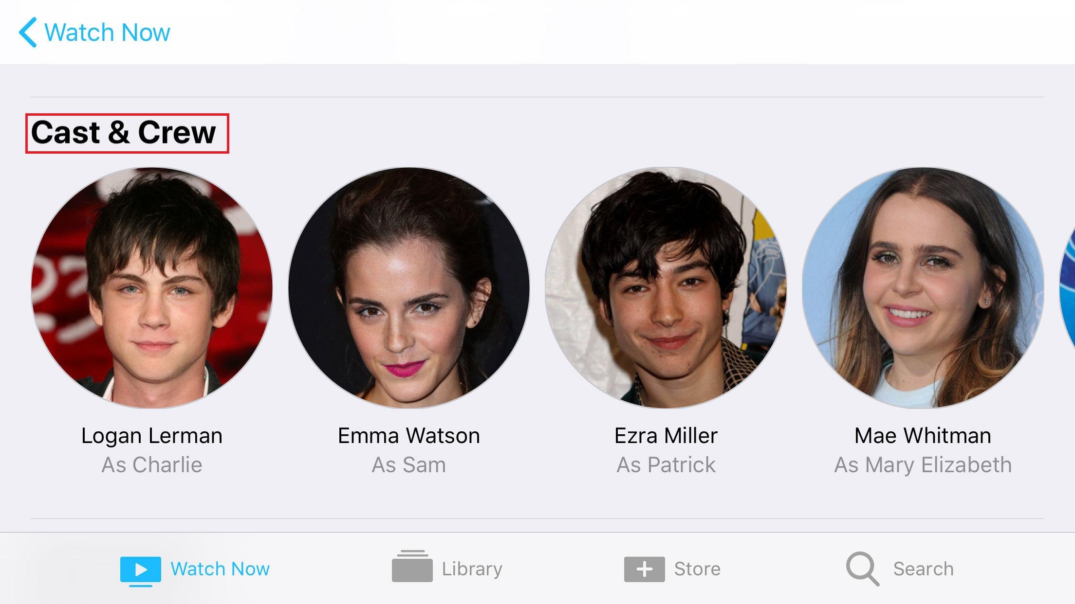 iOS TV App