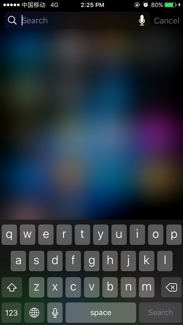 Turn off Siri Suggestions