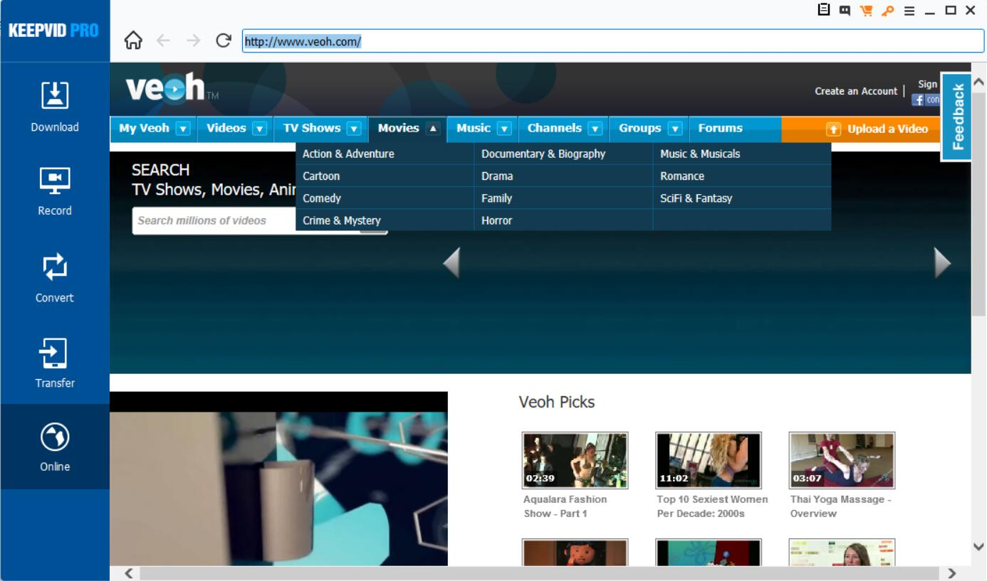Download Veoh Video