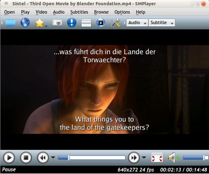 SMPlayer for watching the iTunes movies on Ubuntu