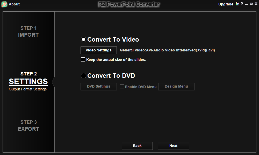 free PowerPoint to DVD Converters