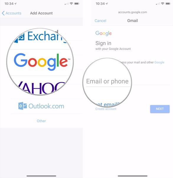 Choose Google