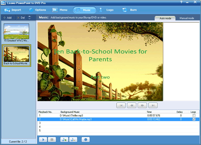 convert pps to DVD