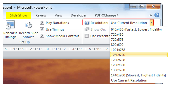convert PPS to video
