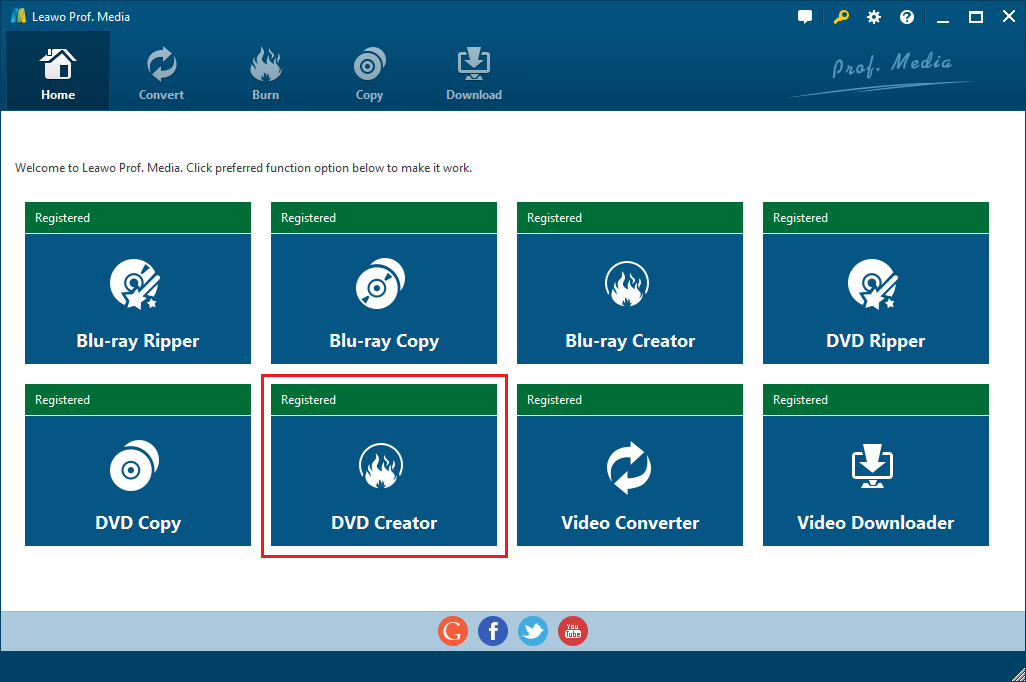 Open DVD Creator