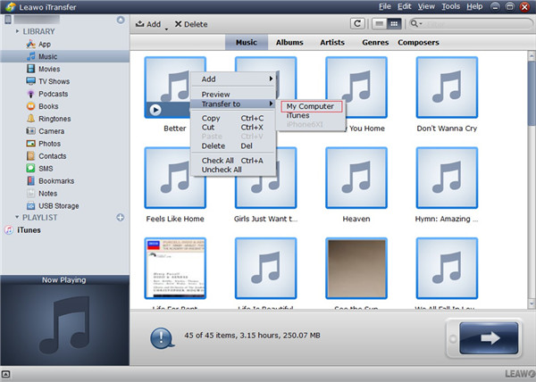 how to download music from my ipad to my computer