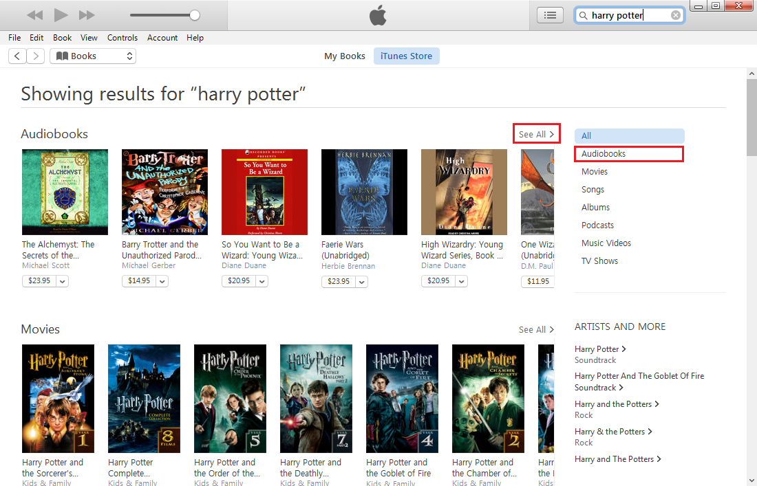 Download Harry Potter Audiobook