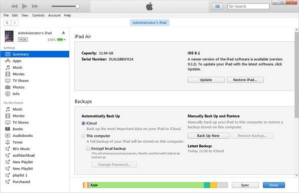 iPad icon