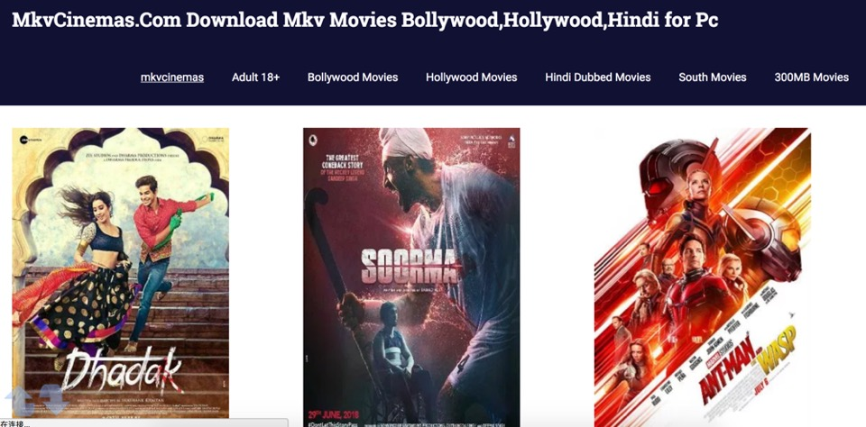Best websites to download Hollywood Hindi dubbed movies