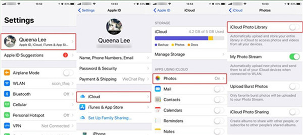 how-to-transfer-data-from-iphone-to-huawei-via-icloud-photo-library-5