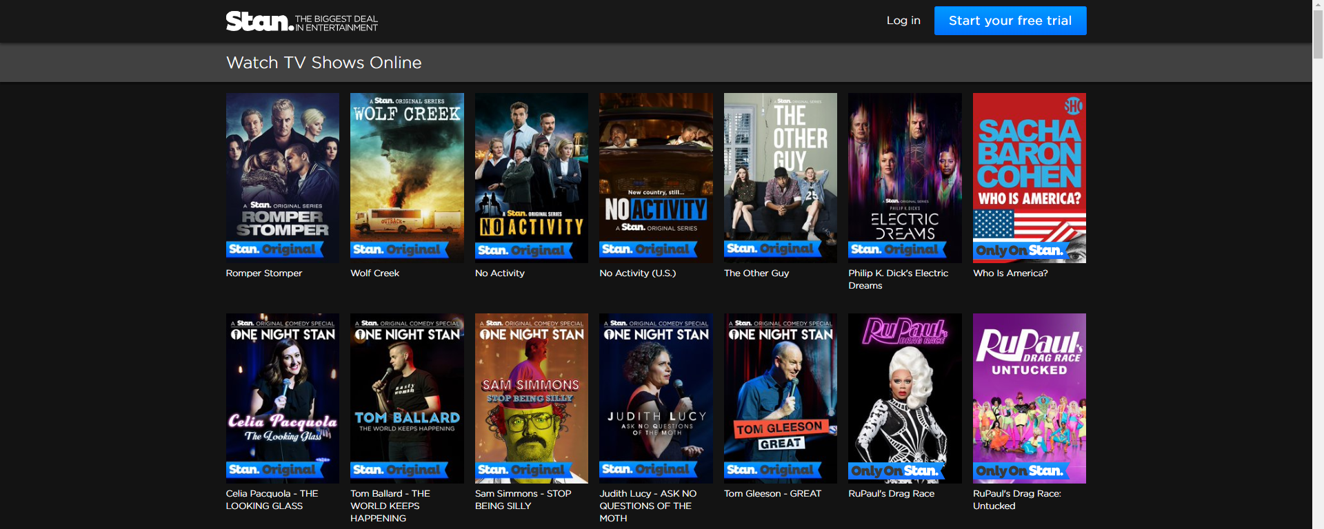 latest tv series download