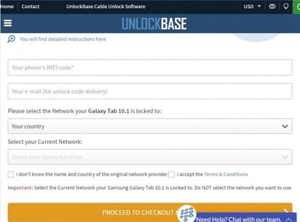 Unlock Base