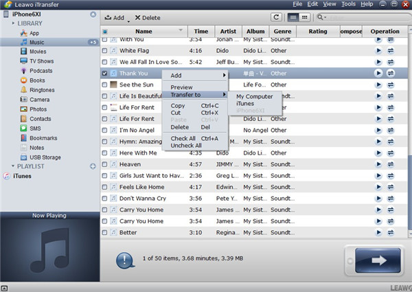 Transfer Songs from iPhone to iTunes