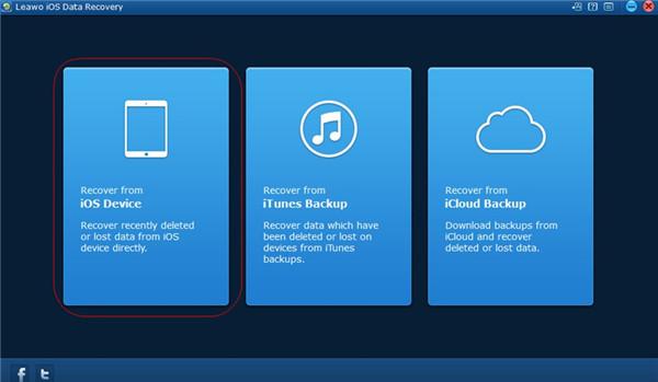 Choose Backup Source