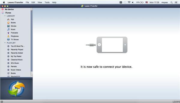 Run iTransfer for Mac