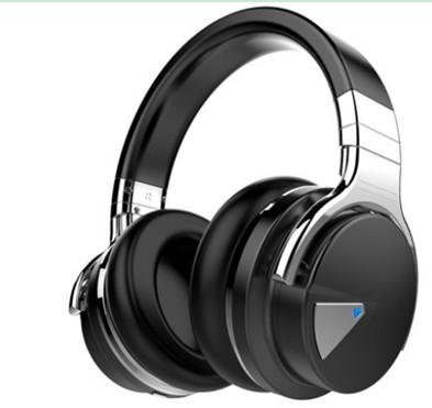COWIN E7 Active Noise Cancelling Bluetooth Over-Ear Headphones with Microphone