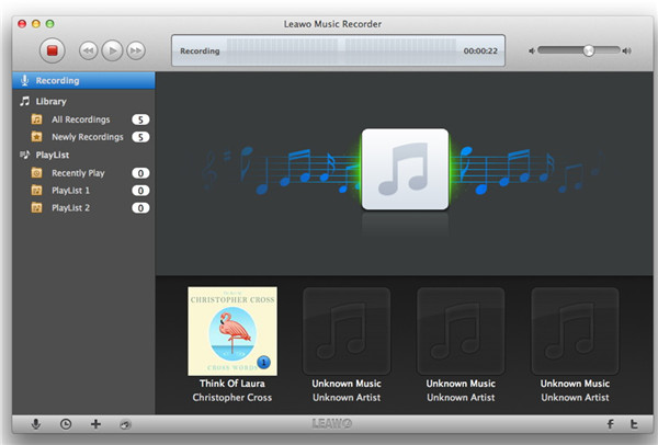 Begin to Record Exercise Music on Mac