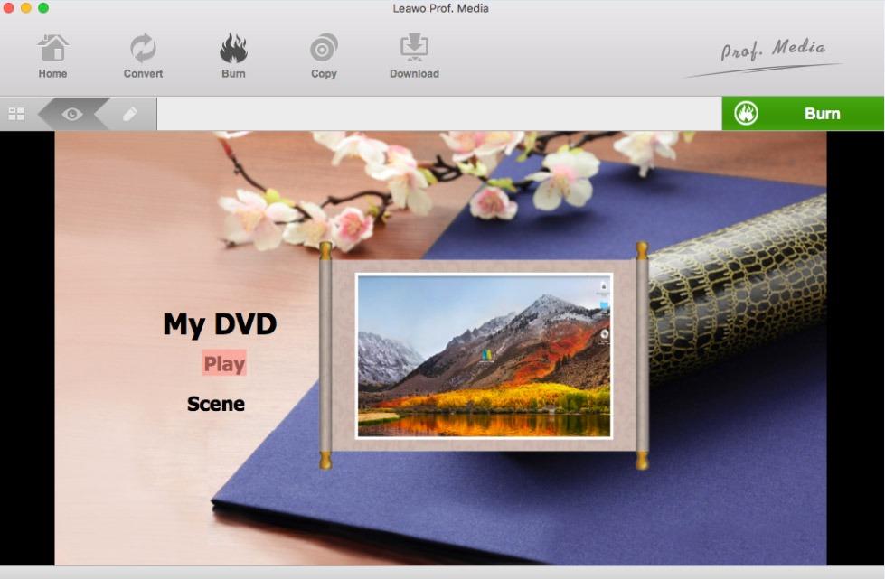 leawo-dvd-creator-mac-set-menu