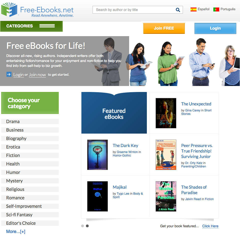 FREE E-BOOKS SITES PDF DOWNLOAD
