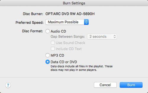 burn-data-dvd-with-iTunes-1