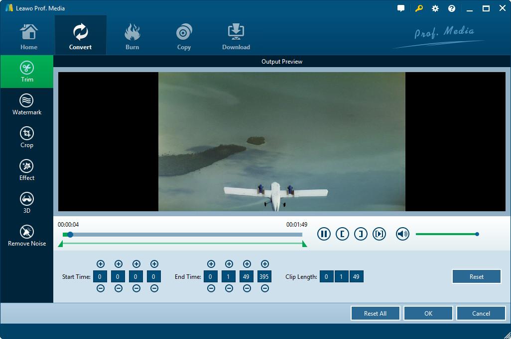 Edit source video files