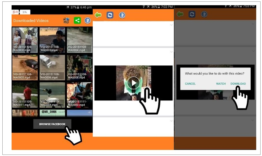 Top 5 Best Facebook Video Downloader for Android | Leawo Tutorial Center