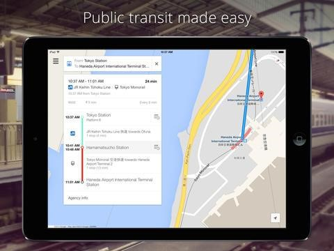 Top-Travel-Apps-for-iPad-Google-Maps