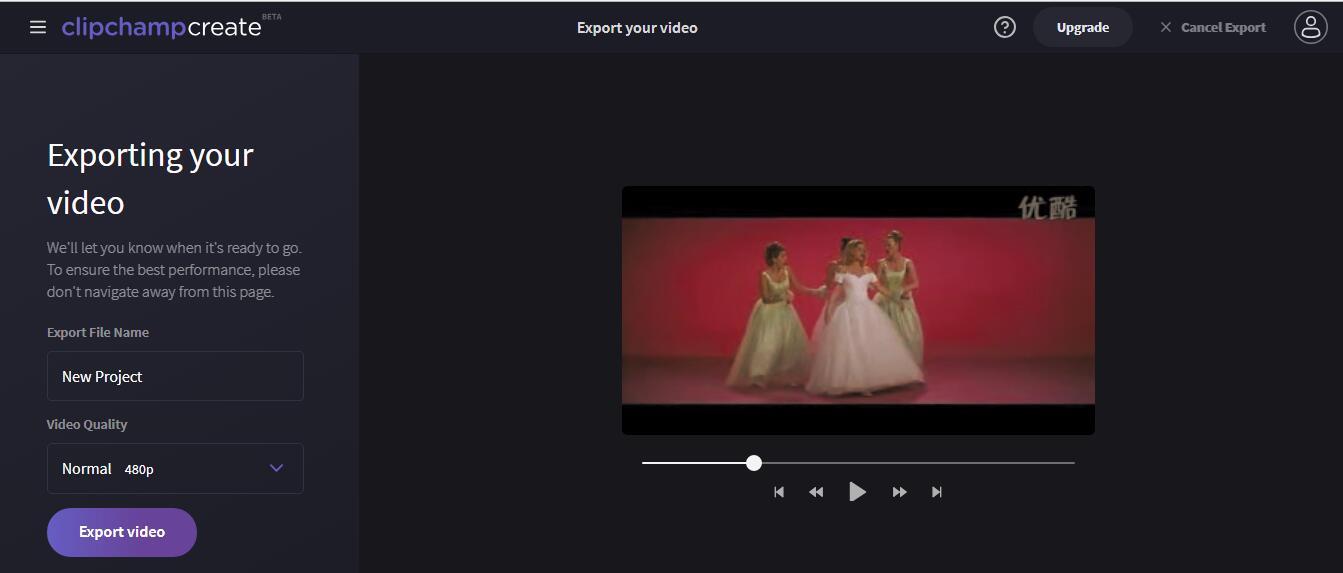 Export Video