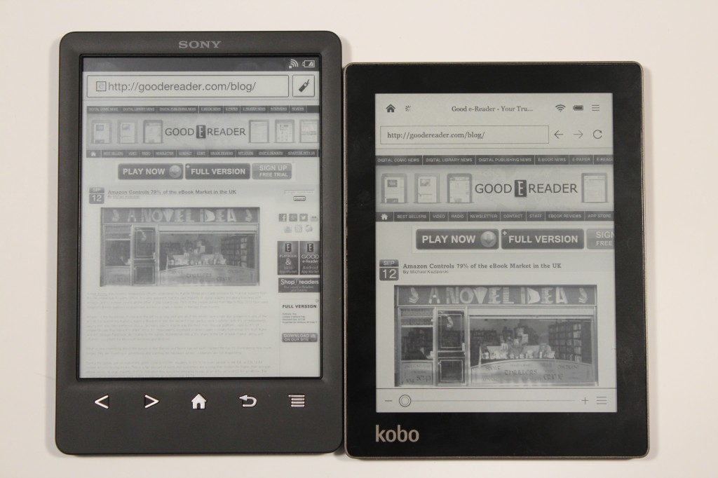 Brief Introduction to Sony eReader