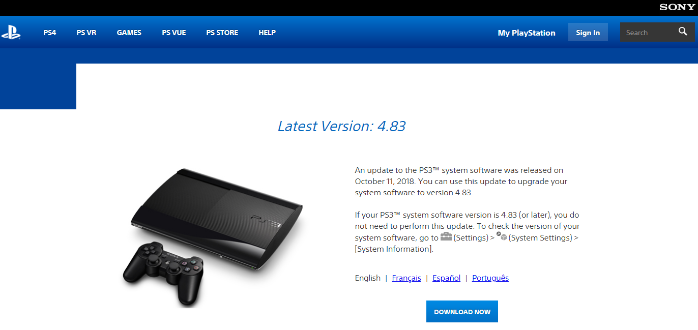 Renew PS3 encryption key