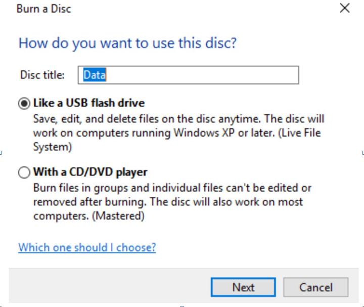 Best software to burn DVD in Windows 7 (Free programs