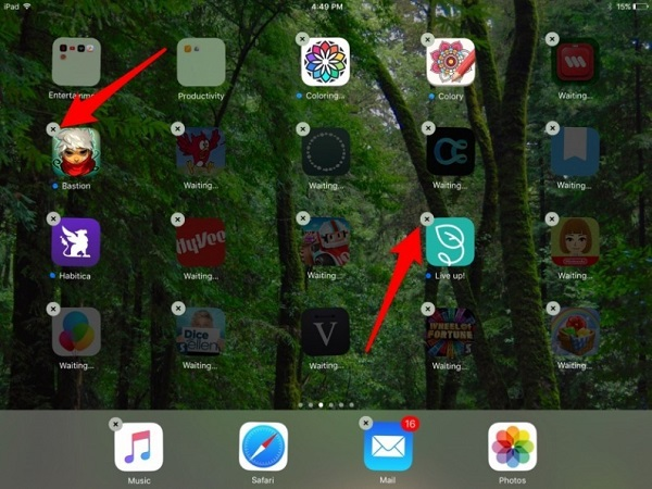 Delete-Games-on-iPad-through-Tapping-and-Holding