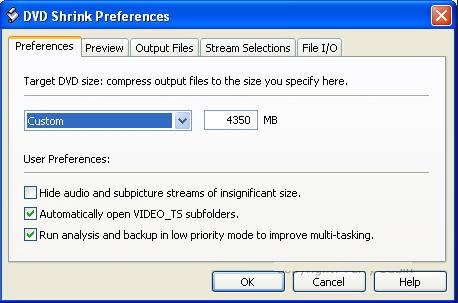 Set preference