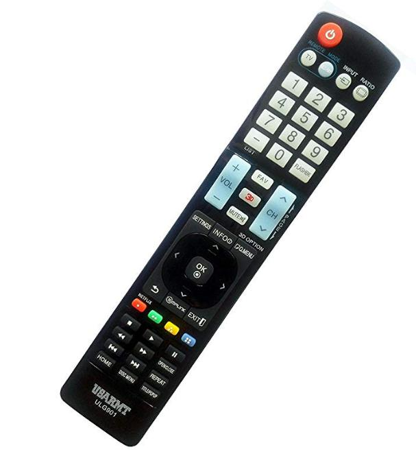 LG Universal Blu ray remote