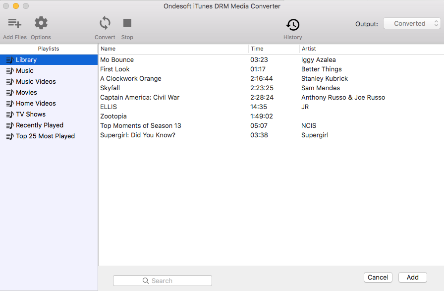 Launch OndeSoft iTunes