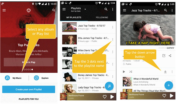 how-to-download-napster-music-via-napster-app-android-3