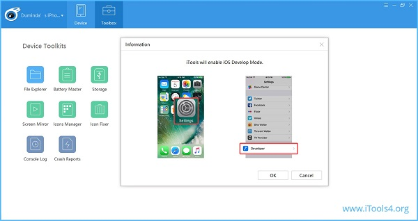 how-to-transfer-music-from-iPad-to-music-player-via-iTools-connecting