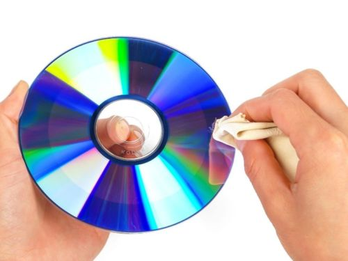 How to clean Blu-ray discs