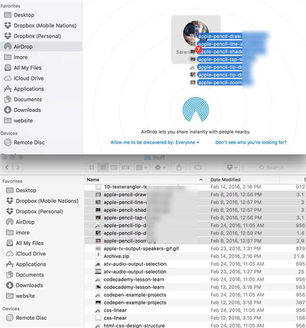 how-to-transfer-iphoto-video-to-iphone-using-airdrop-drag-and-drop-10