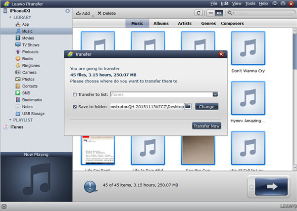 how-to-transfer-music-from-iphone-to-blackberry-with-itransfer-folder-3