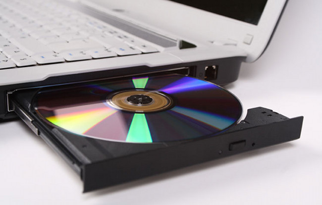 Insert DVD to disc drive